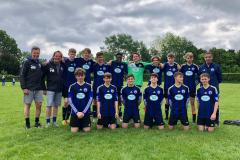 Football: U15s finished their season off in style