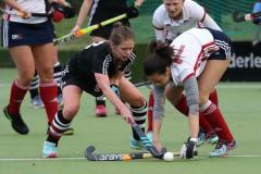 Hockey:  Bennison bags a brace for AEHC as Ladies target promotion