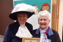 Volunteer recognised for over 50 years of dedication to Girlguiding