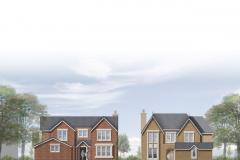 Chairman has casting vote on Moss Road housing plan
