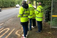 Traffic calming measures will be introduced on one of village's main roads