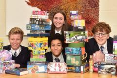 King's charity workers send gifts to Wood Street Mission