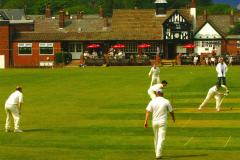 Cricket: Champions tumble as Alderley climb table