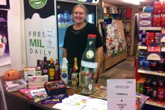 Newsagents fundraising for youth charity