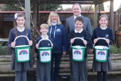 Primary School's fundraising exceeds £5000 for children's charity