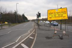 Change of plan for bypass closure