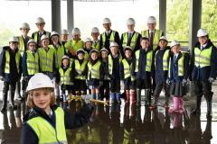 Topping out of new King's campus brings together the community