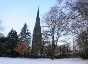 St Phillips in snow 002