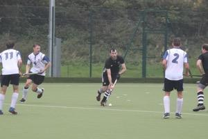 Rob Tremlow on the ball for AEHC Mens 1s