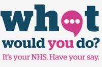 NHS what would you do logo