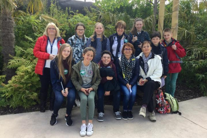 French pupils from Dax visit AESG