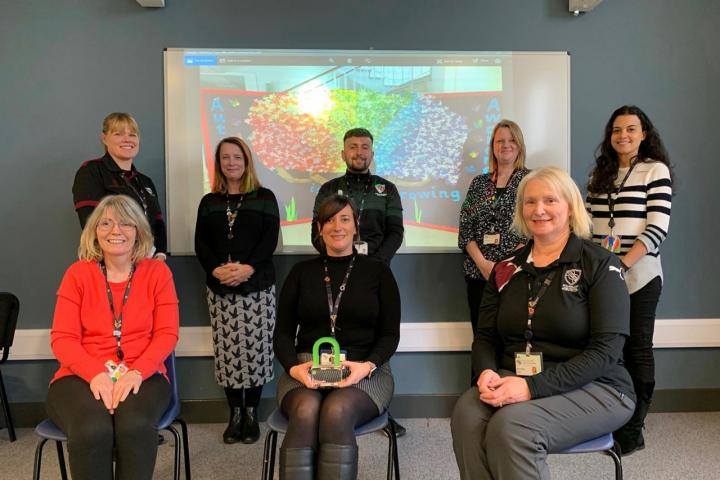 Staff from the Autism Resource Provision at Wilmslow High School