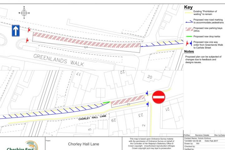 Chorlerley Hall Lane - Draft Proposals