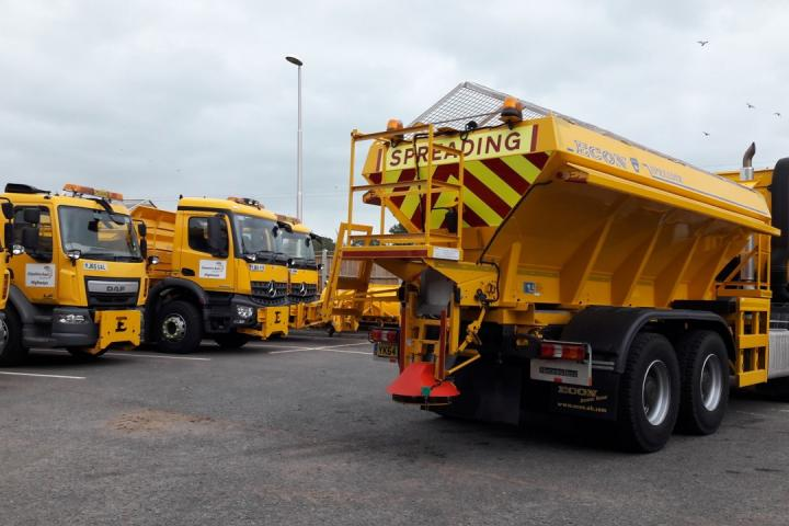 CEC gritters ready for action 2
