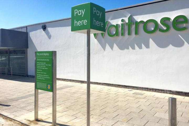 Waitrose take over car park and increase charges