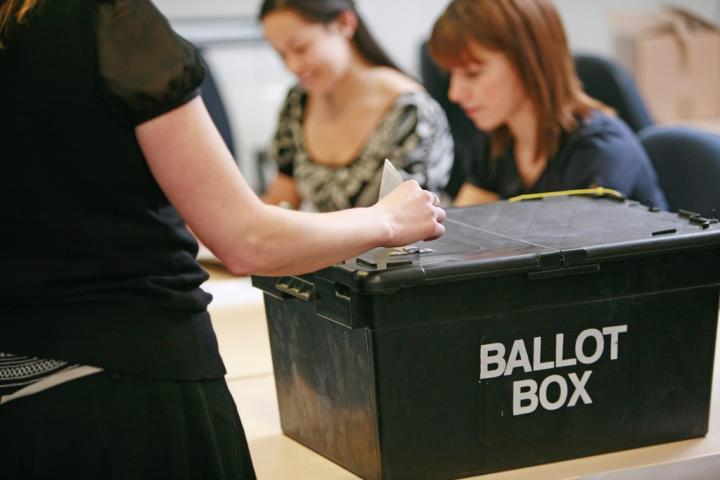 Elections ballot box