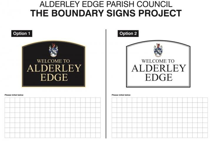 Boundary signs 2019