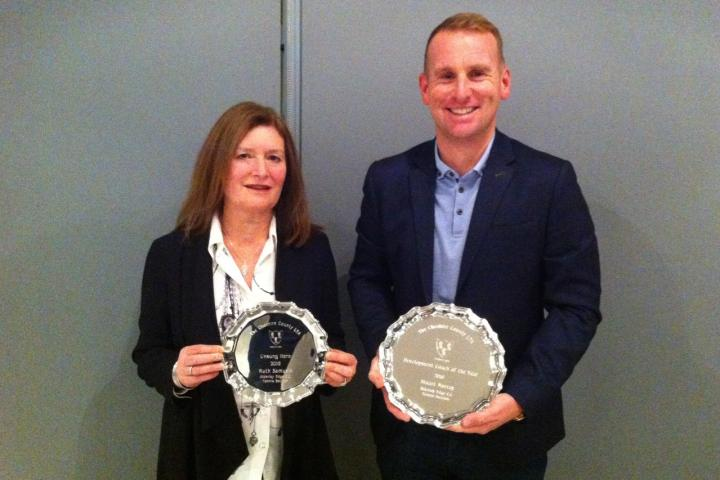 Stuart and Ruth - Cheshire LTA Awards