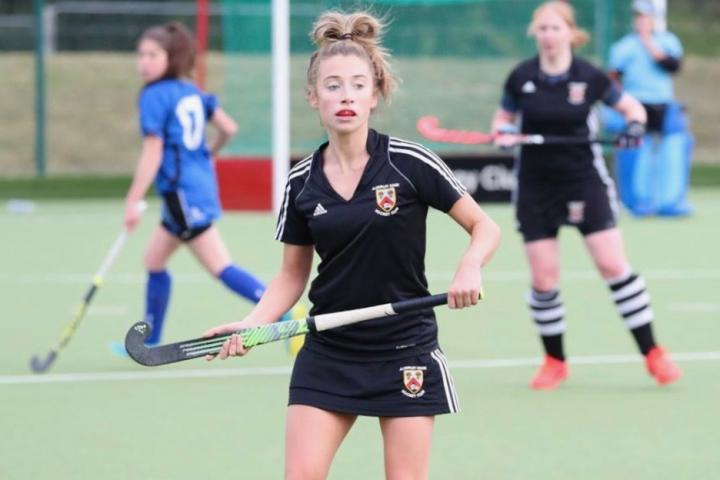 Tor Parkin - AEHC's Ladies 1s Player of the Match against Kirkby Stephen