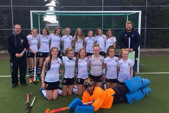 U14 girls March 2018