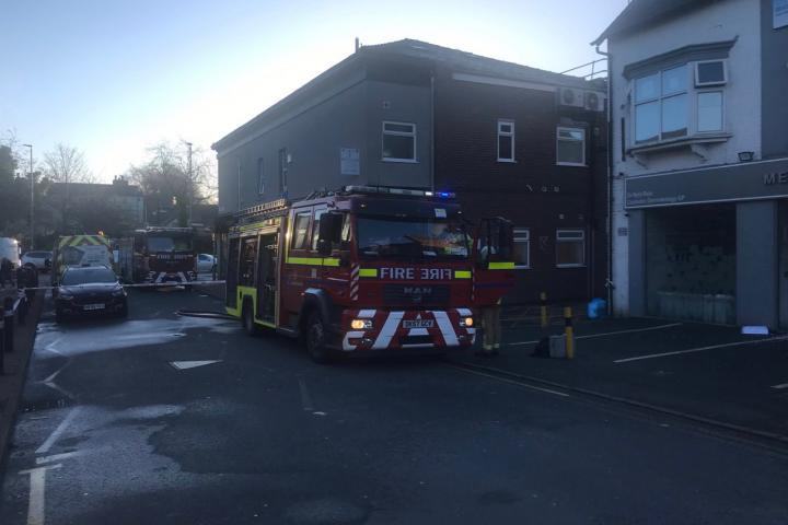 Pilates studio and cosmetic clinic hit by petrol bomb attack